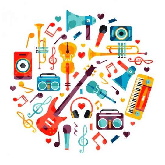 circle made of music instruments 23 2147509304